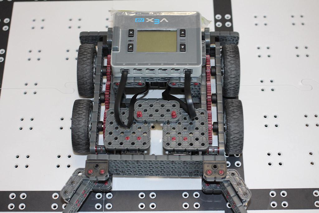 Fall robotics club final design top view