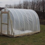 Side of greenhouse
