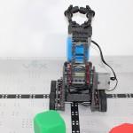 Robotics club robot picking up a block 4