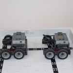 Side view of base robots