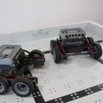 Robotics club teams base robot