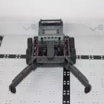 Black Mambas team robot front view
