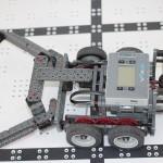 Black Mambas team robot overhead view