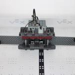 Winners team robot front view
