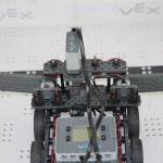Winners team robot overhead view