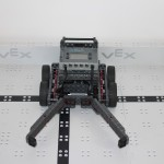 Team Black Mambas robot front