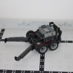 Robotics club team Black Mambas robot