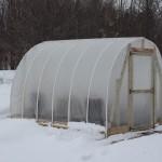 winter DIY greenhouse more