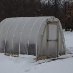 winter DIY greenhouse