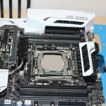 PC processor on motherboard