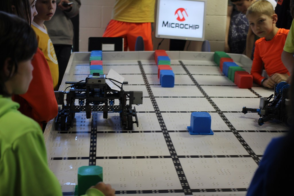 04-13-2015 vex iq robotics match