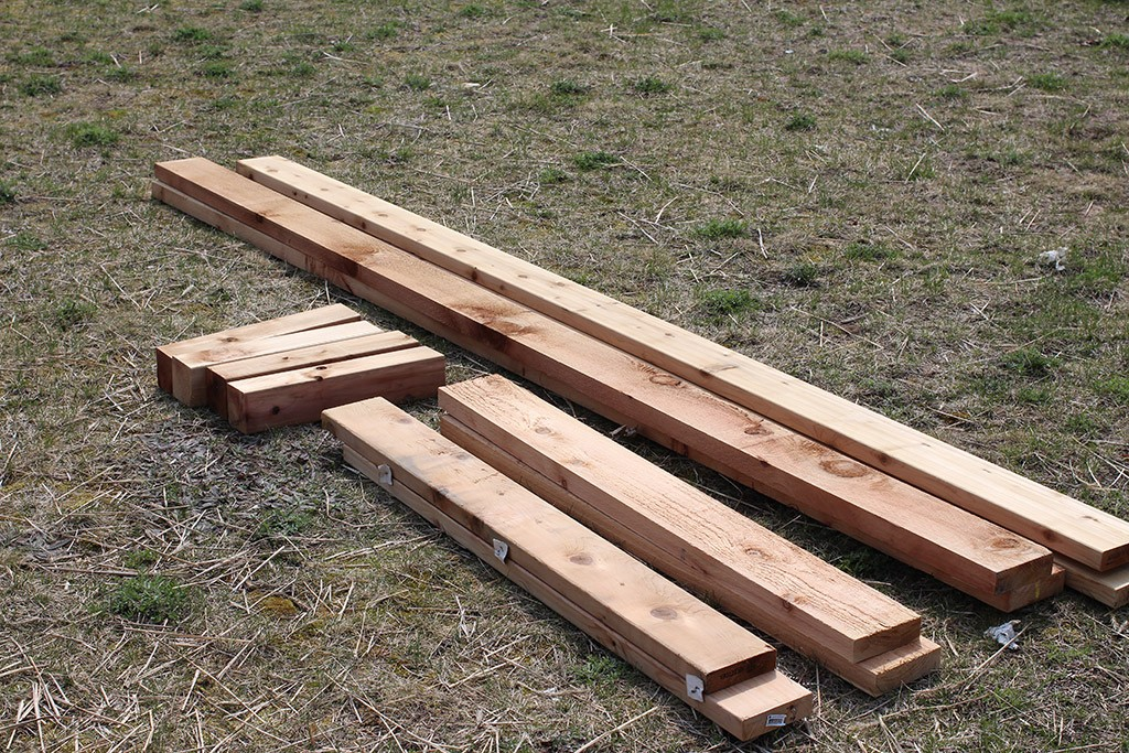 large raised garden beds materials