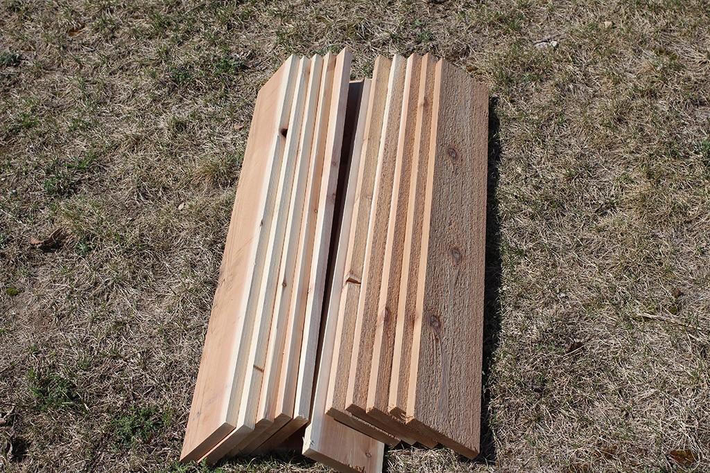 removable slats