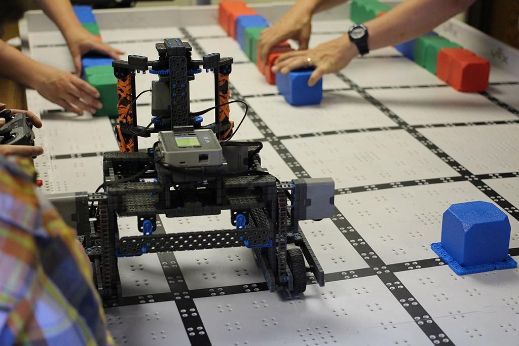 the RoboRunners robot