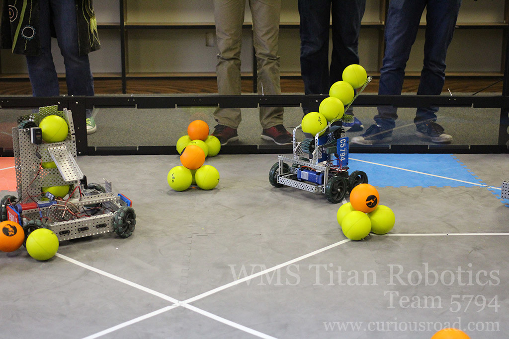 Robotics club team 5794C ready to roll