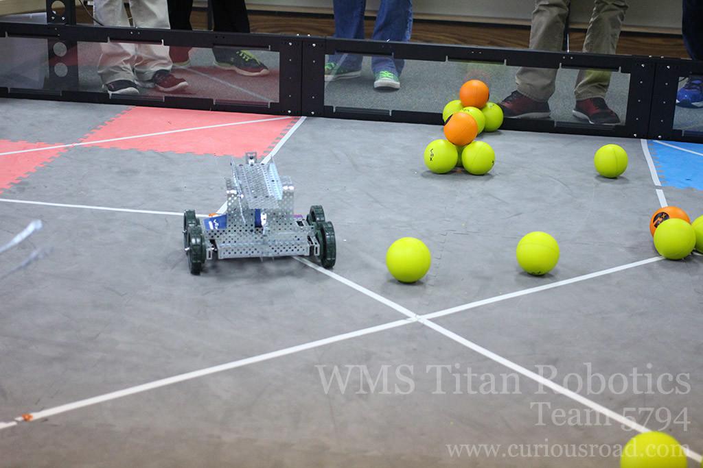 Robotics club 5794A driving