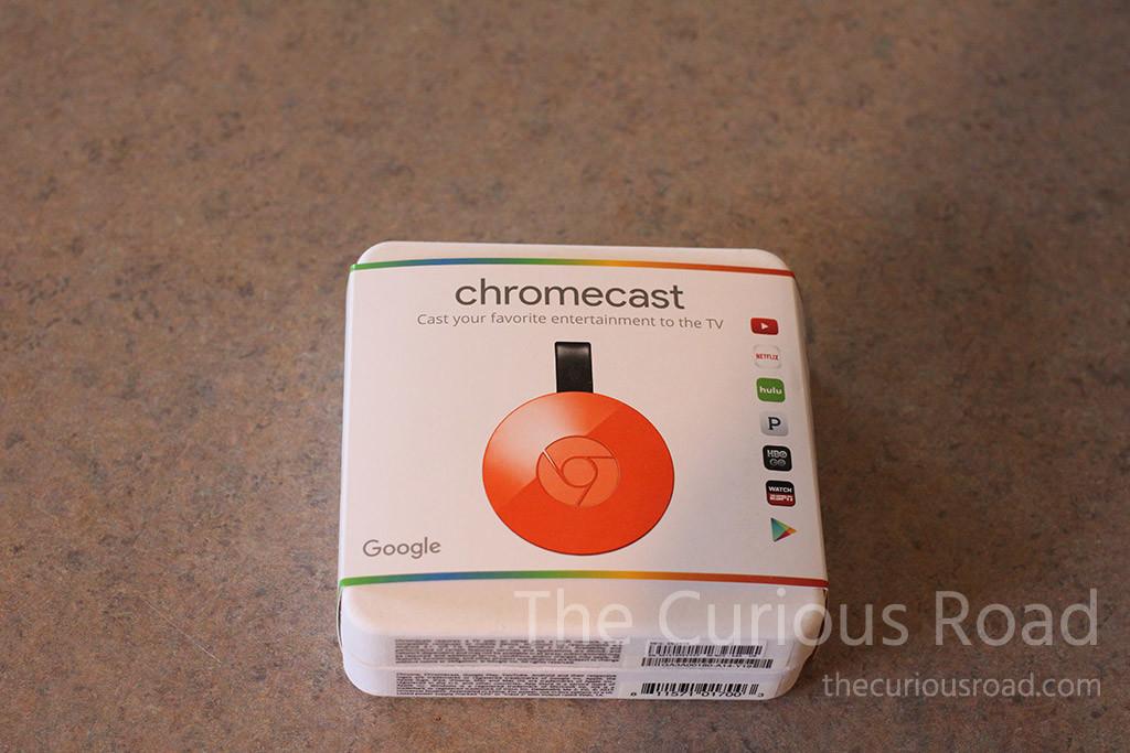 Google Chromecast 2 Packaging