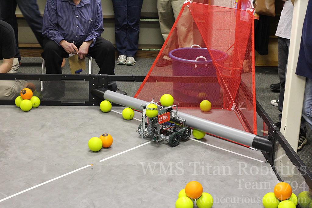 Team 5794C autonomous scoring