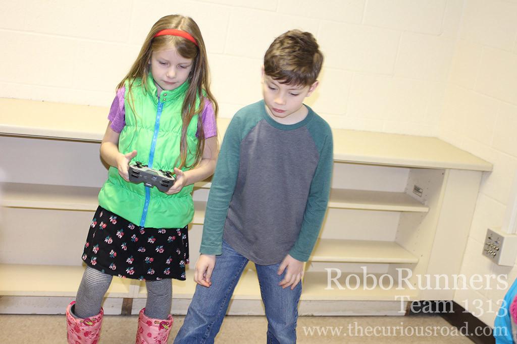 RoboRunners 2nd grade team members