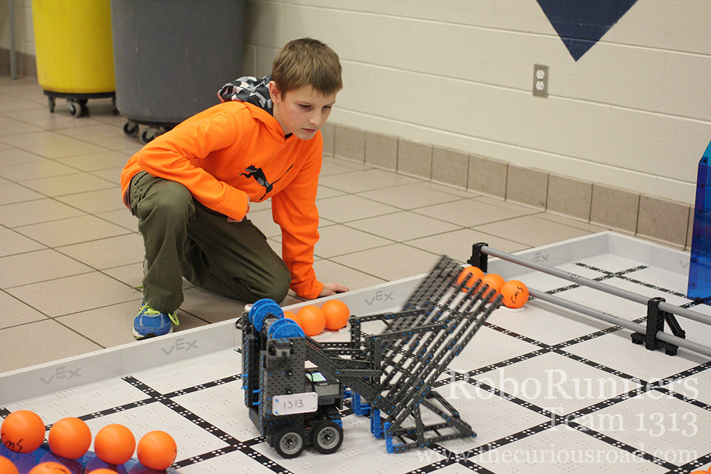 Autonomous robotics run