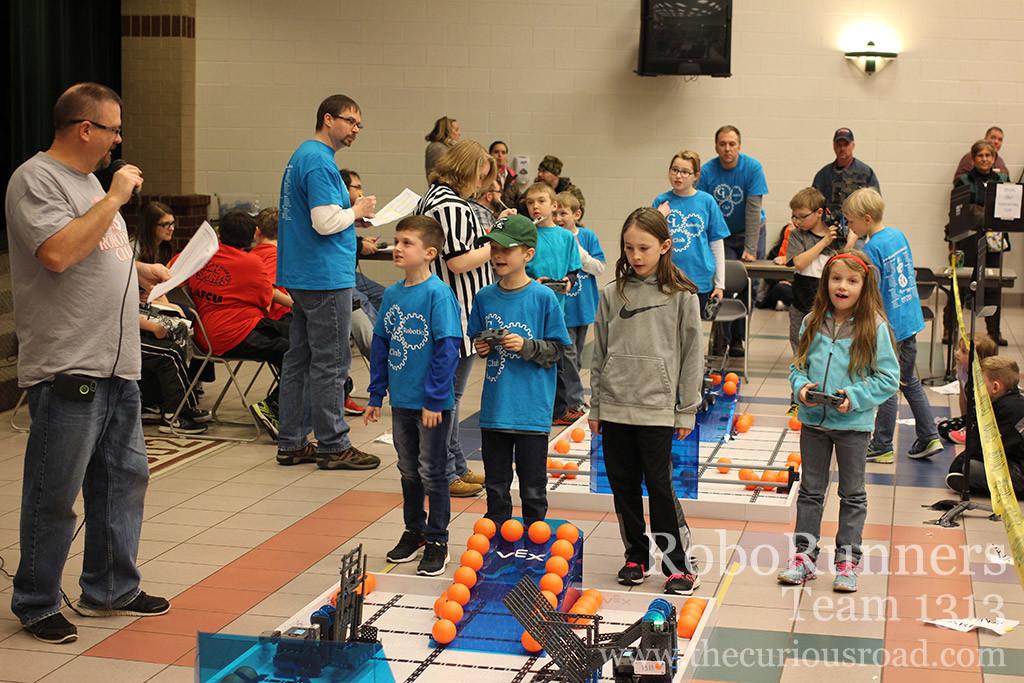 robotics qualifying run