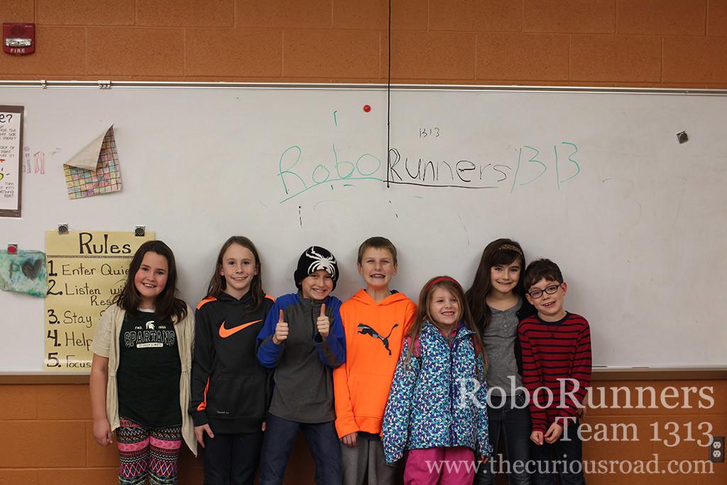 Roborunners Vex IQ team 1313