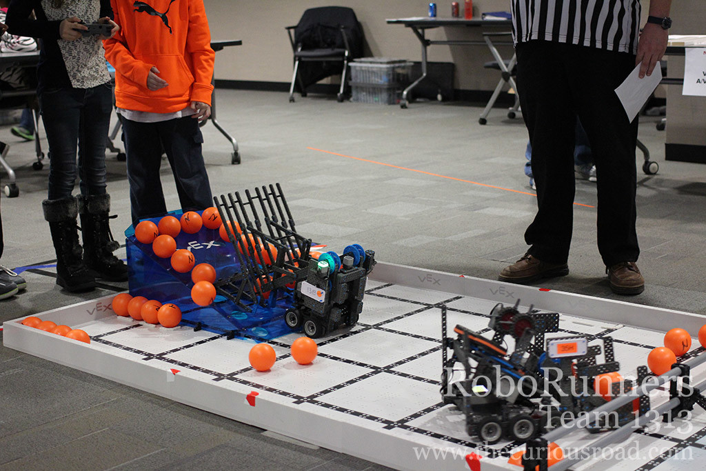 Vex IQ qualifying match