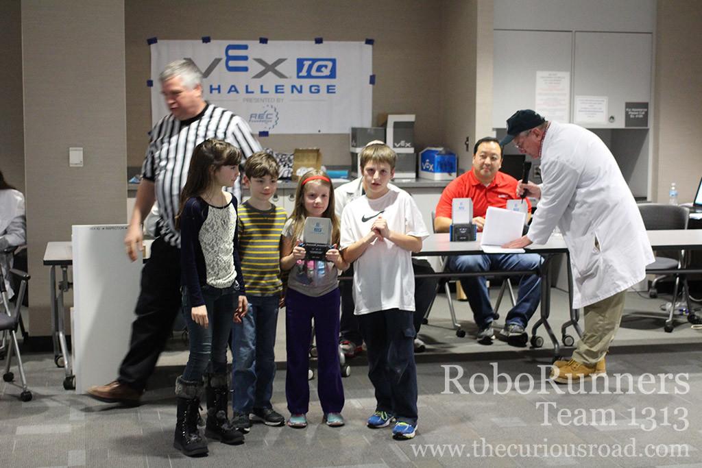 RoboRunners are programming skills champions