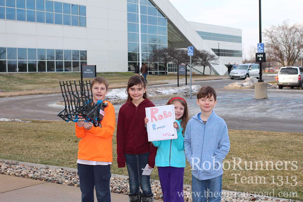 Roborunners at the Nissan Engineering Facility