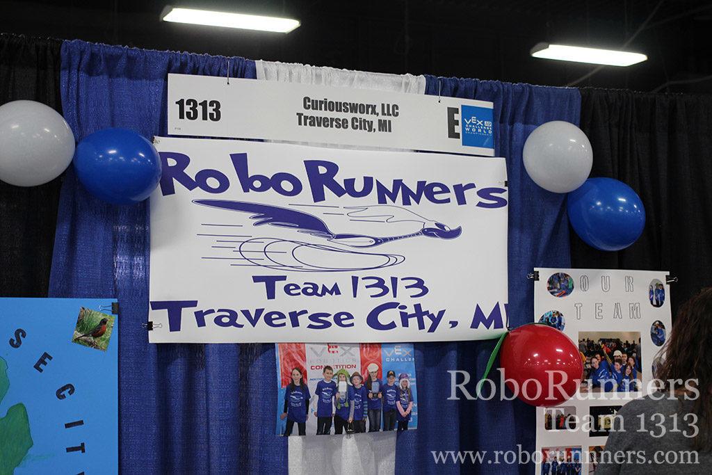 RoboRunners team banner