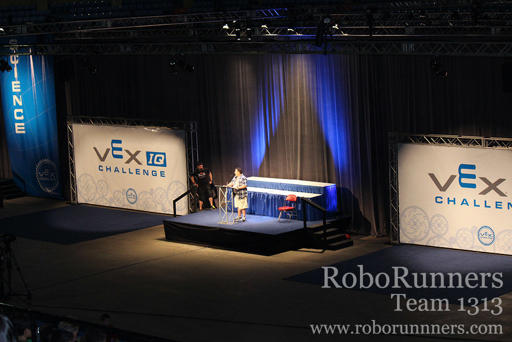 driver meeting at VEX Worlds