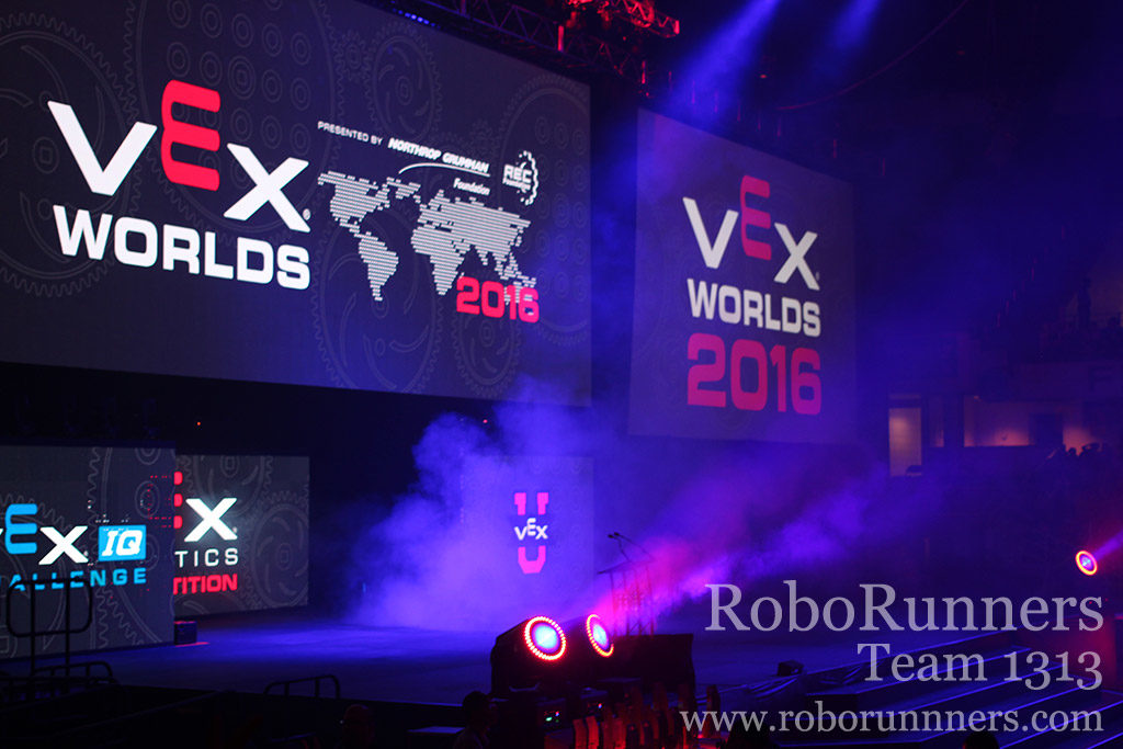 stage at VEX robotics 2017 game review
