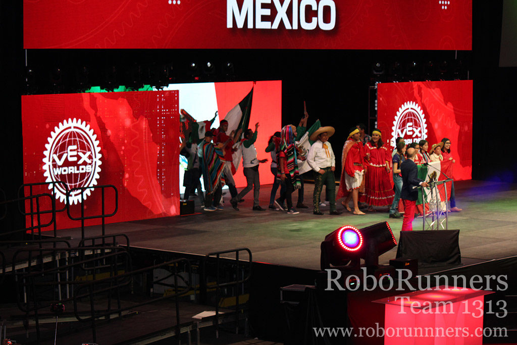 Mexico at VEX Worlds