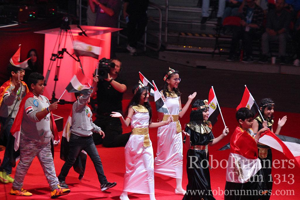 Egypt at VEX Worlds