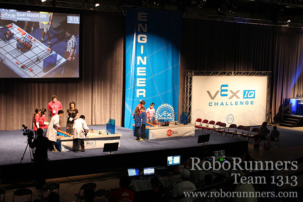 VEX Worlds qualifying match